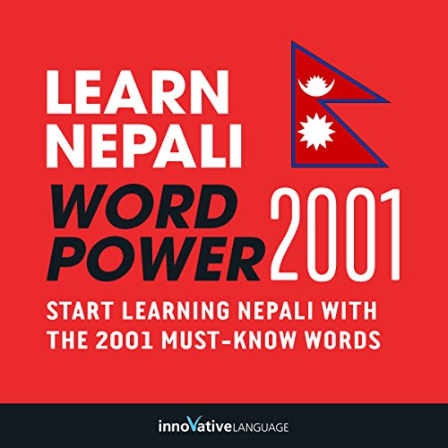 Learn Nepali - Word Power 2001 audiobook cover art