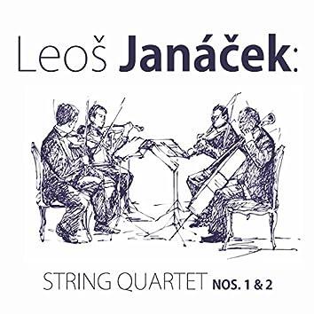 Leoš Janáček: String Quartet Nos. 1 & 2