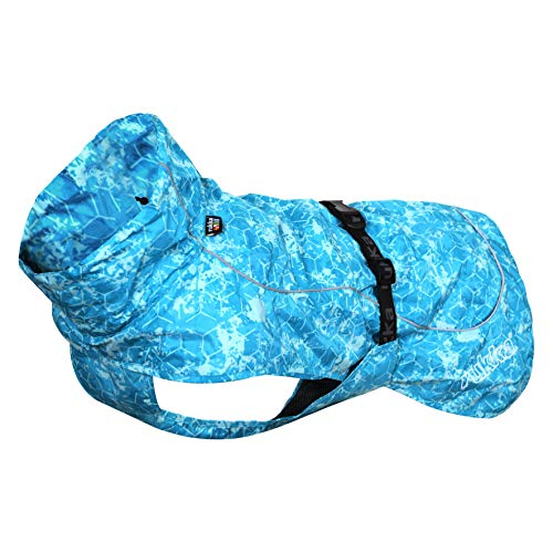 Rukka Hundemantel, Türkis, Größe M