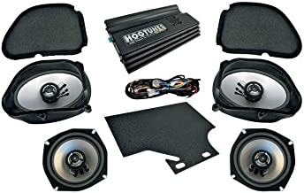 Hogtunes Big RG Ultra Amp and Speaker Kit for 1998-2013 Harley-Davidson Road Glide Models