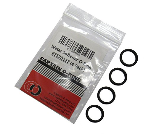 Water Softener 7170327 O-Ring Seal (4-pack) for Whirlpool, Sears, GE, Northstar