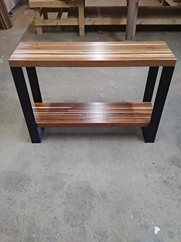 Reclaimed Wood Side Table, Barn Wood Console Table