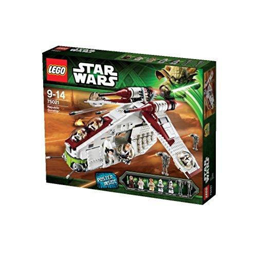 LEGO STAR WARS - Republic Gunship, Juego...