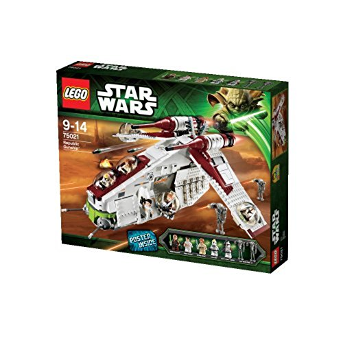 LEGO Star Wars 75021: Republic Gunship