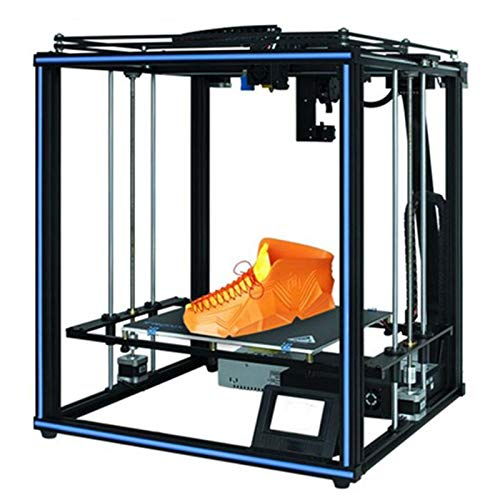 GMZS 3D Printer, High Precision 400 * 400 * 400Mm Larger Print Size 3.5 Inch TFT Touch Screen PLA ABS Filament
