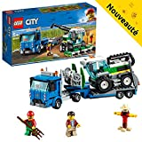 LEGO City - Le transport de l'ensileuse - 60223 - Jeu de construction