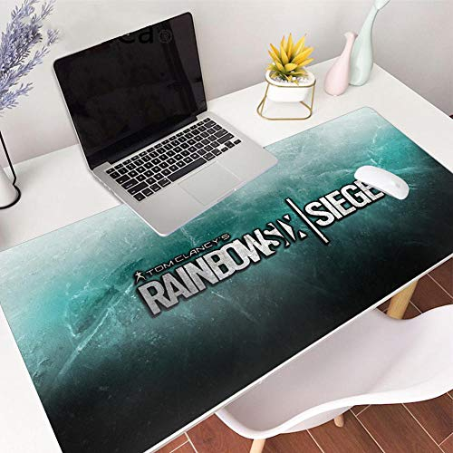 Mouse Pads 900400 for Large Game Tom Clancy's Rainbow Six Siege Overclock pc Gaming Mouse pad Speed 35.4_x_15.7_x_0.1in