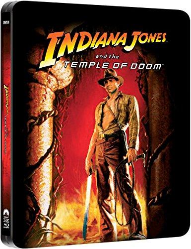 Indiana Jones and the Temple of Doom - Exklusive Limited Steelbook Edition (inkl. Deutscher Ton / auf 4000 Stk. geprägt) (Der T