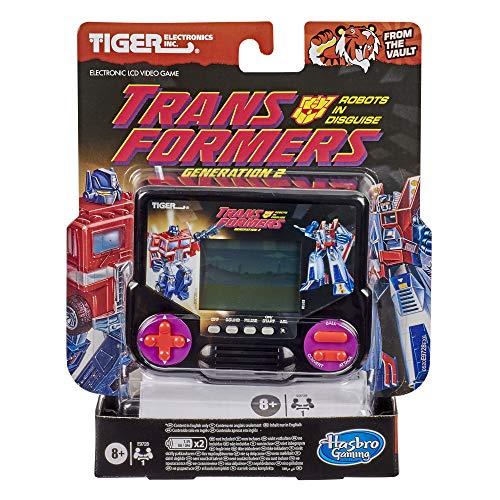 Hasbro Gaming Tiger Electronics Transformers Robots in Disguise Generación 2 - Videojuego electrónico LCD Inspirado en Retro-Inspirado para 1 Jugador, Juego de Mano a Partir de 8 años