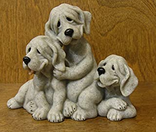 Second Nature Quarry Critters #50102 Petie, Pepe, Pooch, Gray color