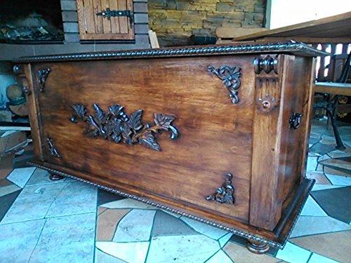 DECOCRAFT RN3 Boîte à couverture en bois style vintage