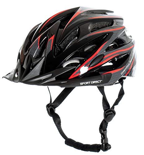 Sport Direct™ Herren Fahrradhelm Team Comp 24 Vent Graphit 58-61 cm CE EN1078:2012+A1:2012 - 3