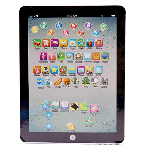 taianle Baby Learning Tablet English Learning Machine Early Education Learning Toy Childrens Touch Screen Tablet Pad Reading Machine Portable Toys Pad Birthday Xmas Gift Pink