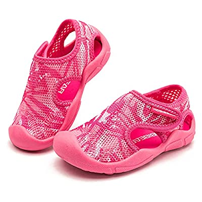 Amazon - 70% Off on Kids Slip on Water Shoes for Beach Pool Toddler Girls Boys Closed-Toe