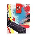 Roll'eat - Boc'n'Roll Young - Bolsa Merienda Porta Bocadillos Ecológica y Reutilizable sin BPA, Skate