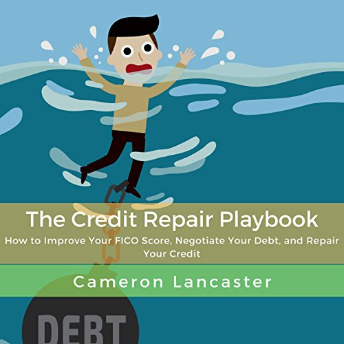 The Credit Repair Playbook audiobook cover art