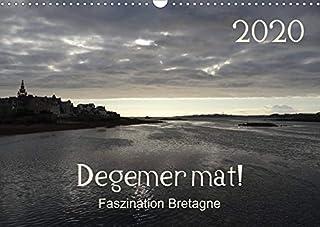 Degemer mat: Faszination Bretagne (Wandkalender 2020 DIN A3 quer): Spannende, stimmungsvolle Bilder aus einer der schoensten Regionen Europas. (Monatskalender, 14 Seiten )