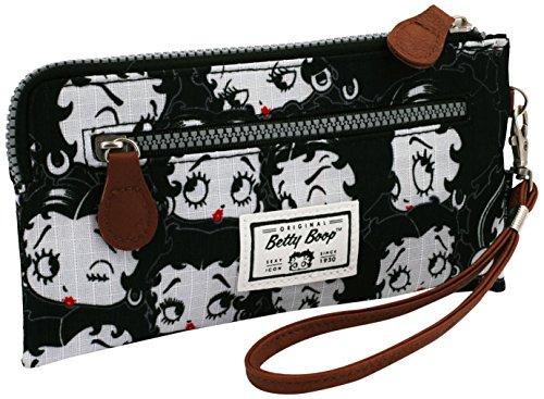 Karactermania Betty Boop Noir Bolsas de Aseo, 21 cm, Negro