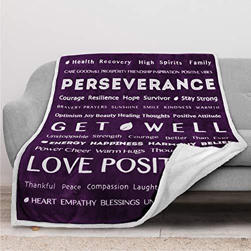 PAVILIA Healing Blanket, Get Well Soon Gift Blanket for Women, Men  ...