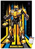 Trends International Hasbro Transformers: Bumblebee-127 Wall Poster, 22.375' x 34', Poster & Mount Bundle