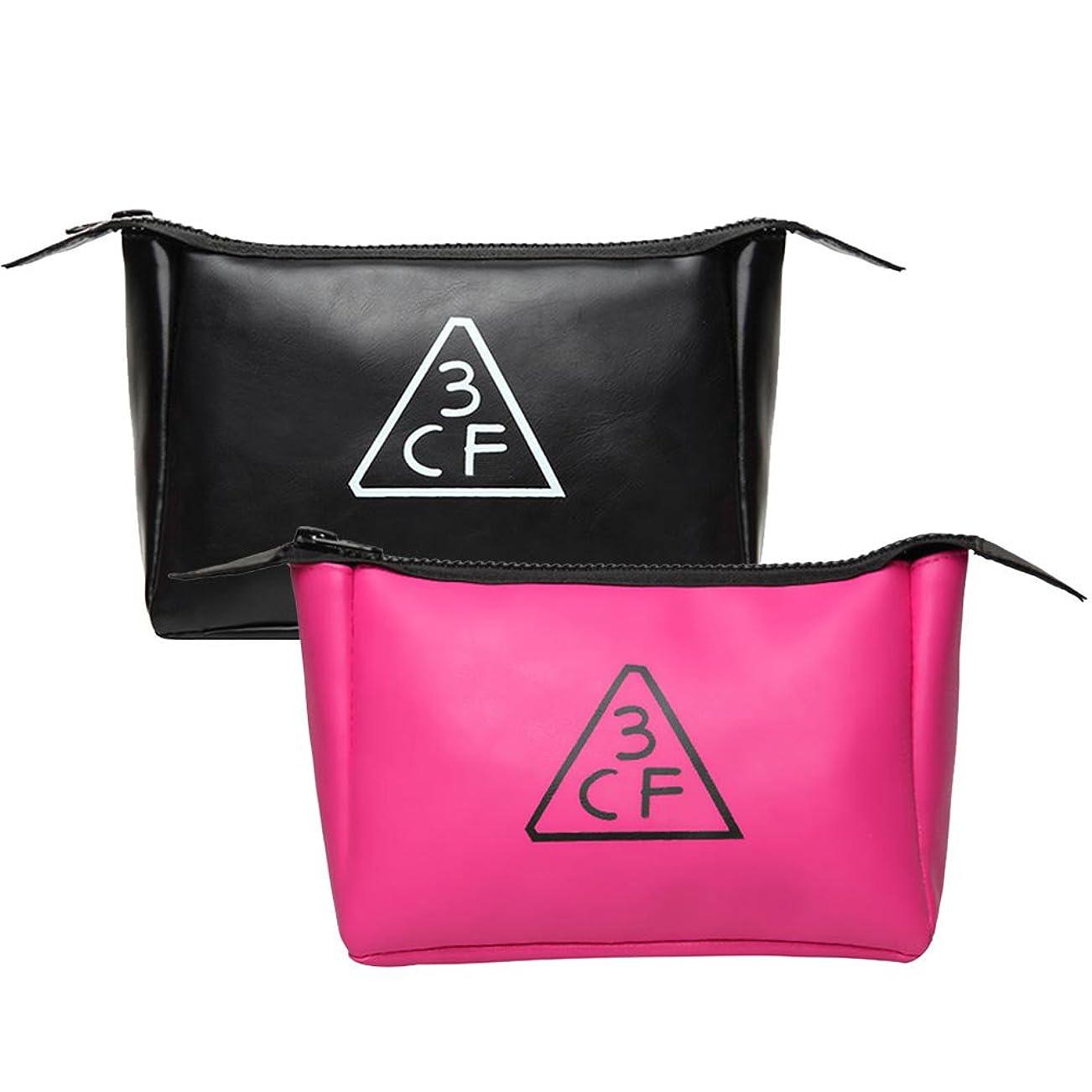 巡礼者意気込み操縦する韓国コスメ 化粧ポーチ レディース PINK Style 人気 コスメポーチ スタイルナンダ ポーチ 大容量 かわいい ピンク 小さい ブランド 黒