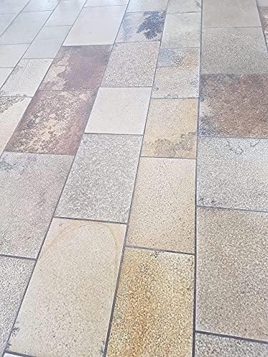 Natursteinplatten Solnhofener Bahnen, Kanten geschnitten für Böden