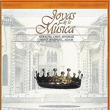 Joyas de la Música, Strauss, Liszt, Dvorak, Bizet, Haendel, Adam