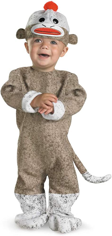 Disguise Inc New York Mall All NEW Costume Sock Baby Cheap Monkey