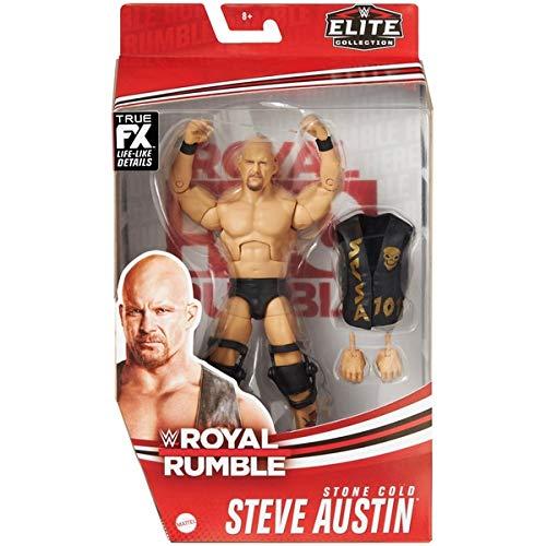 Stone Cold Steve Austin Royal Rumble Elite Series Action-Wrestling-Figur WWE Mattel