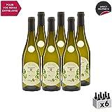 Vin de Savoie Apremont'Perce Neige' Blanc 2018 - Maison Perret - Vin AOC Blanc de Savoie - Bugey - Cépage Jacquère - Lot de 6x75cl