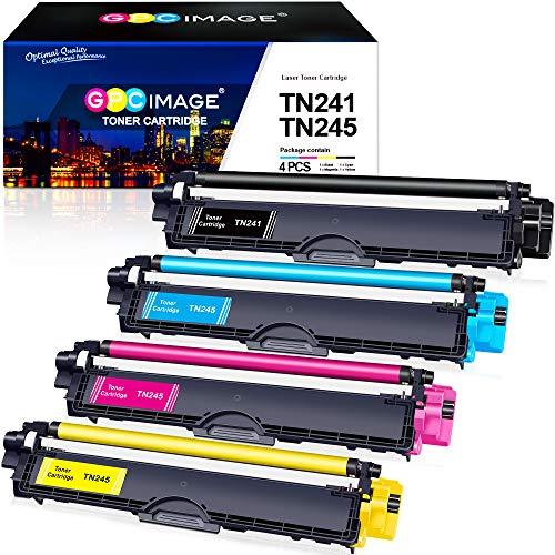 GPC Image Kompatibel Toner Patronen Ersatz für Brother TN-241 TN-245 TN-242 TN-246 für MFC-9332CDW DCP-9022CDW HL-3142CW MFC-9142CDN HL-3152CDW MFC-9140CDN MFC-9342CDW DCP-9017CDW 9020CDW HL-3140CW