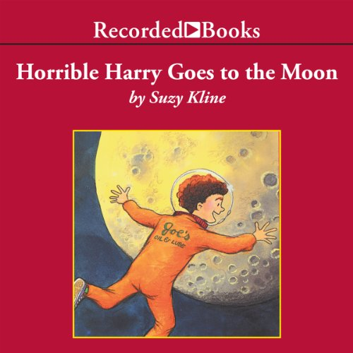 Horrible Harry Goes to the Moon audiobook cover art