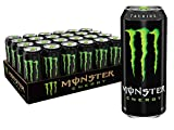 Monster Energy Drink, 16 Fluid Ounce (Pack of 24)