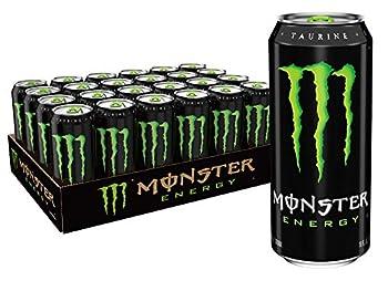 Monster Energy Drink Green Original 16 Ounce  Pack of 24