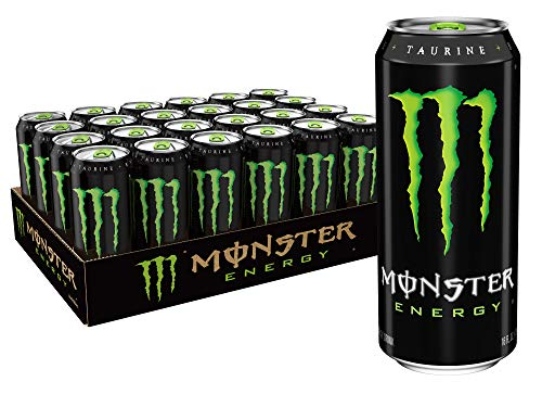 Monster Energy Drink Green Original 16 Ounce Pack of 24