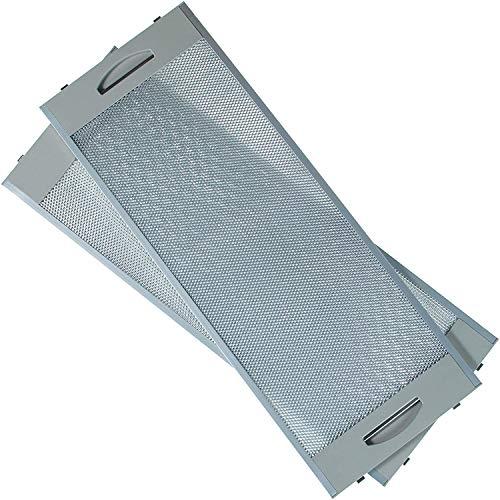 MIRTUX metalen filter voor afzuigkap Teka (incl. 2 stuks) Afmetingen: 19 x 50 cm. Geschikt voor verschillende modellen afzuigkap: CNL2000, CNL1000. (zie compatibiliteit)