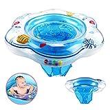 DAYPICKER Baby Schwimmring mit Schwimmsitz, aufblasbare Baby Schwimmring für Kleinkind Schwimmhilfe Spielzeug, Baby Pool Schwimmen Float für Kinder Planschbecken 6 Monaten bis 3 Jahren