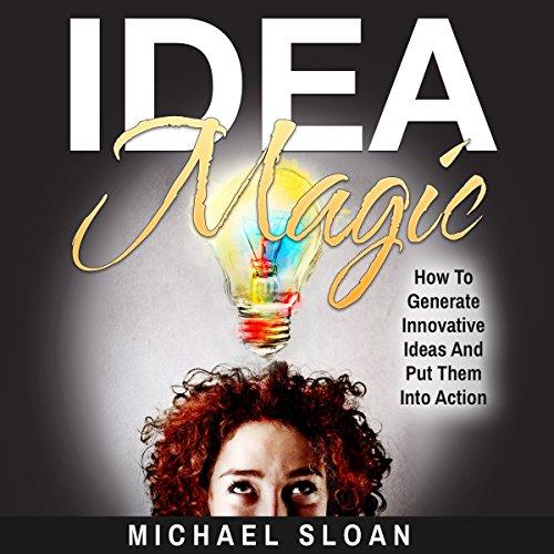 Idea Magic audiobook cover art