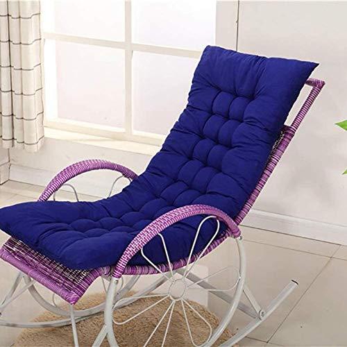 HZWLF Cojín para Tumbona, Almohadilla Gruesa para salón, Cojines para sillas de jardín para Patio, sillón reclinable, Almohadilla para Relajarse 120 * 48 * 5 cm