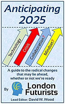 Anticipating 2025: A guide to the radical changes that may lie ahead, whether or not we're ready by [David Wood, Mark Stevenson, Rohit Talwar, Calum Chace, David Pearce, Sonia Contera, Natasha Vita-More, Anders Sandberg, Ben McLeish, Amon Twyman]