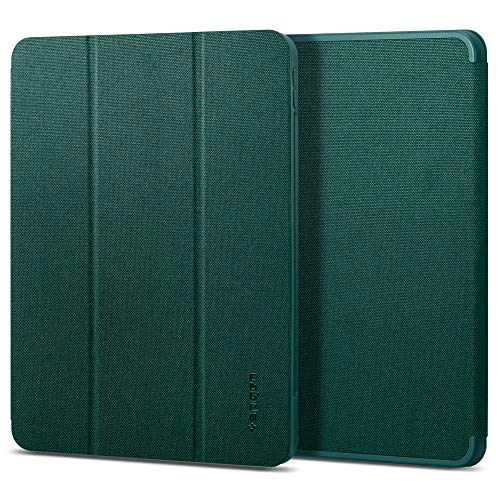 Spigen Urban Fit Compatible with iPad Pro 11 Inch Case with pencil holder (2020/2018) - Midnight Green