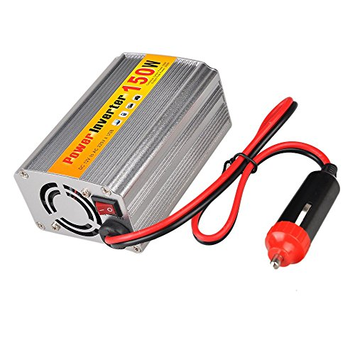 Kuinayouyi 150W 12V a AC 220V Inversor de energia del Coche con Conector USB Transformadores de Voltaje Inversores para Coche automoviles