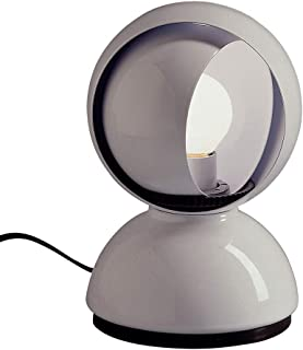Artemide Eclisse - Lámpara de mesita de noche, color blanco