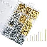 Assorted Nails and Pins Set, Wal...
