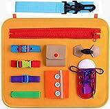 Goorder Activity Board ab 1 2 3 4 Jahre, Montessori Spielzeug für Baby/Kleinkinder/Kinder, Busy Board Motorikbrett, Förderung für Feinmotorik, Lernspielzeug...