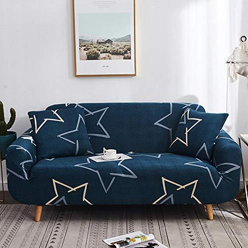 HXTSWGS Protector de Muebles Ajustable,Funda de sofá de Sala de Estar 1 2 3 4 Funda de Asiento, Funda de protección de sofá de Tela elástica, Funda de Asiento de sofá-Color16_90-140cm