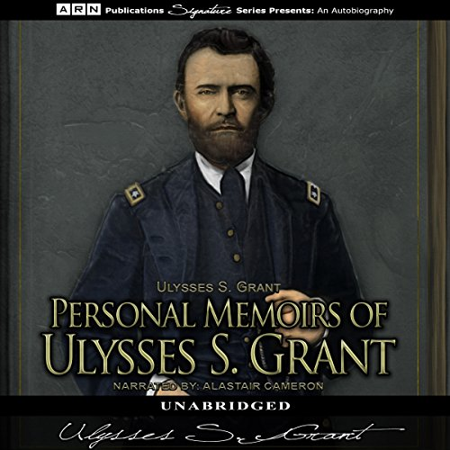 Personal Memoirs of Ulysses S. Grant audiobook cover art