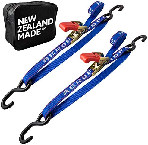 Transom Tie Down Straps for Boat Jetski PWC Trailer Made in NZ Superior Break Strength of 2 product image