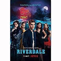 Riverdale 2018TVシリーズシーズン3KJ絵画アートポスタープリントキャンバス家の装飾写真ウォールプリント-50x75CMフレームレス