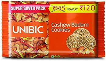 Unibic Cashew Badam Cookies, 500 g